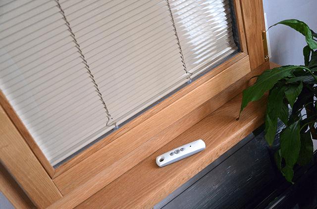 Дерев'яні вікна з вбудованими жалюзі в склопакет