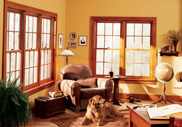 Вікна з модрини
