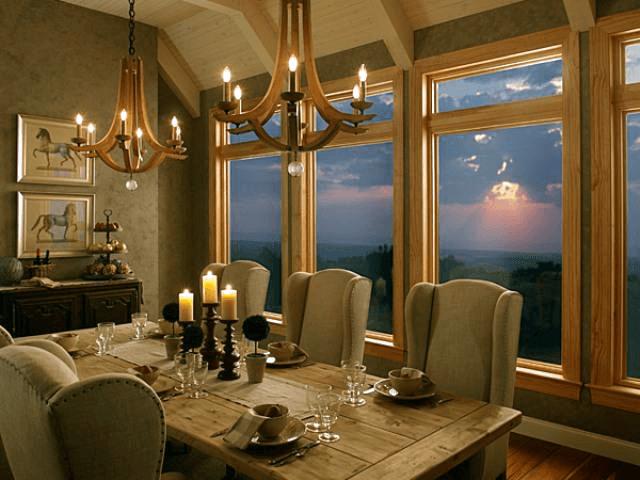 Шумоізоляція дерев'яних вікон