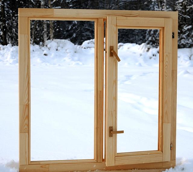 Дерев'яні вікна економ класу