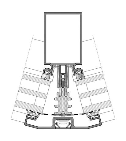 Притискні профілі серії ALT F50