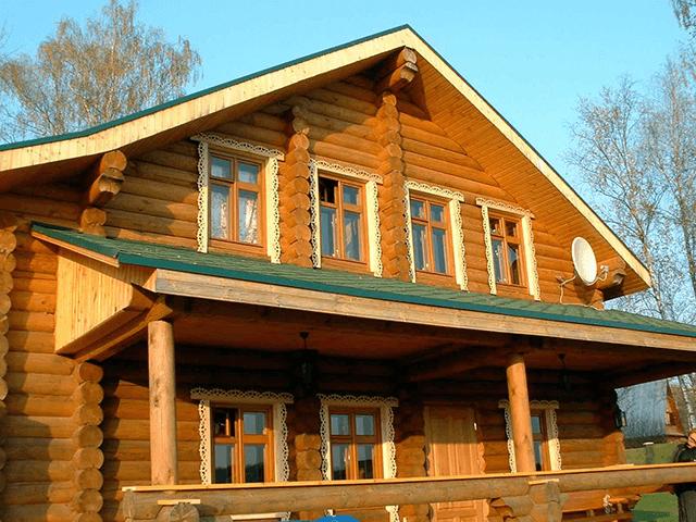 Дерев'яні вікна для будинку