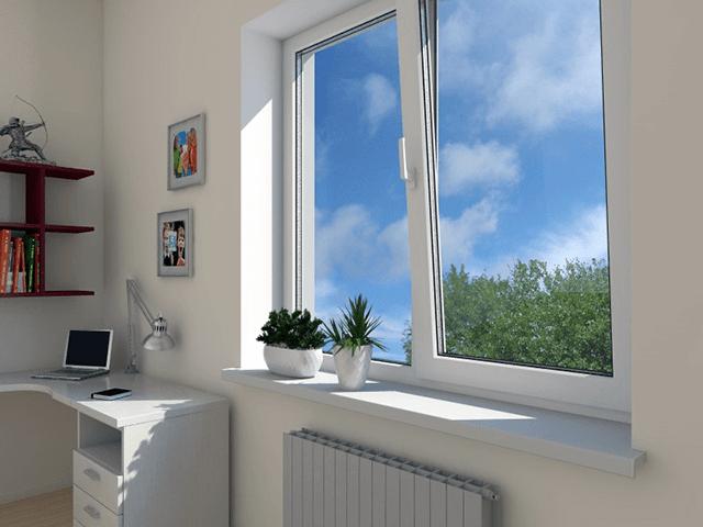 П'ятикамерні вікна