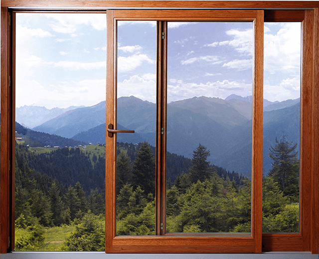 Розсувні дерев'яні вікна