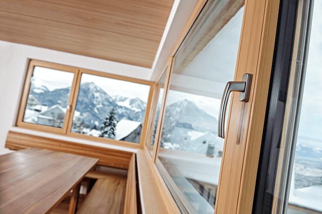 Стандартні дерев'яні вікна