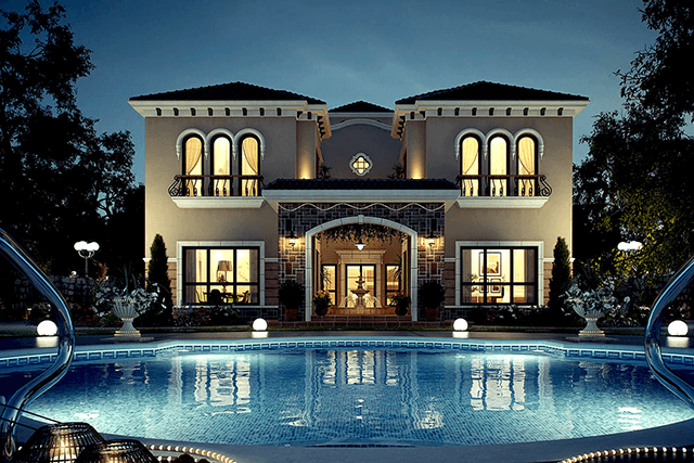 Вікна для VIP заміських будинків