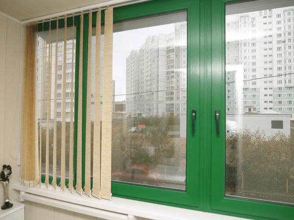 Кольорові металопластикові (ПВХ) вікна