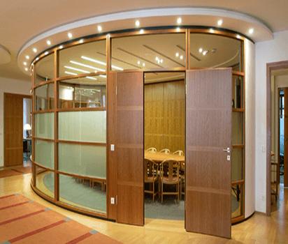 Система офісних алюмінієвих перегородок