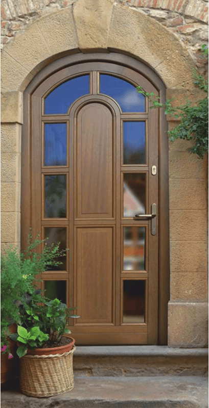Дерев'яні двері