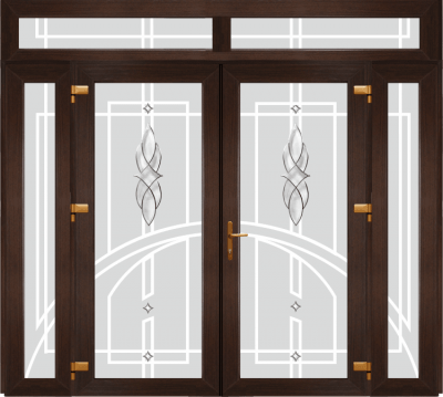 Двері PERFECT ПВХ 1/39 (SF)