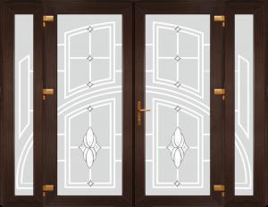 Двері PERFECT ПВХ 1/40 (SF)