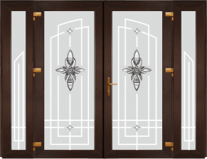 Двері PERFECT ПВХ 1/42 (AF)