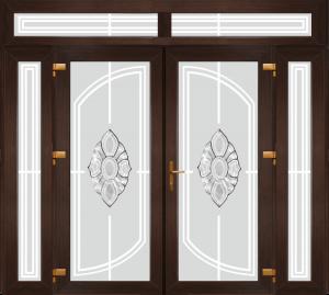 Двері PERFECT ПВХ 1/43 (AF)