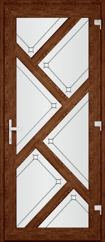 Двері PERFECT ПВХ 16 (SF)