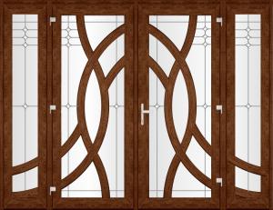 Двері PERFECT ПВХ 20-1 (SF)