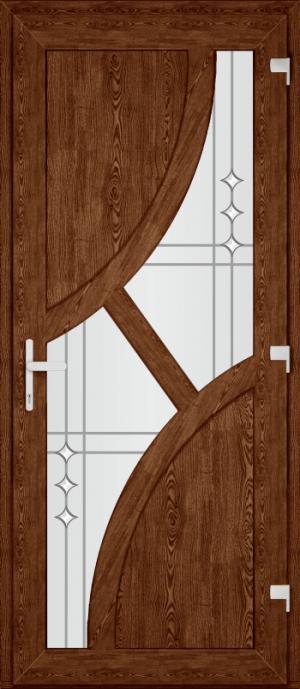 Двері PERFECT ПВХ 34 (SF)