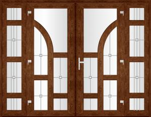Двері PERFECT ПВХ 4.2_1 (SF)