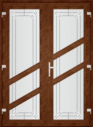 Двері PERFECT ПВХ 41 (SF)
