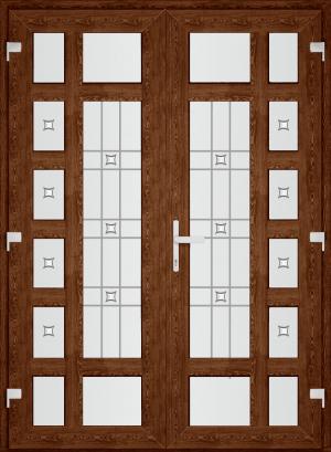 Двері PERFECT ПВХ 42 (AF)