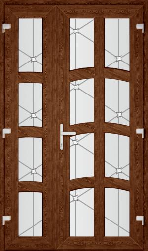 Двері PERFECT ПВХ 43 (SF)