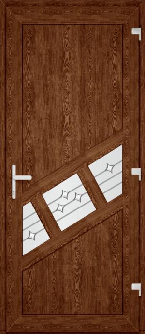Двері PERFECT ПВХ 51 (SF)