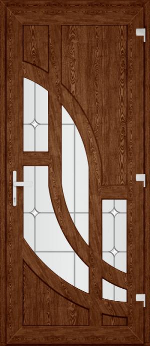 Двері PERFECT ПВХ 53 (SF)