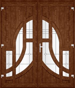 Двері PERFECT ПВХ 53.2 (SF)