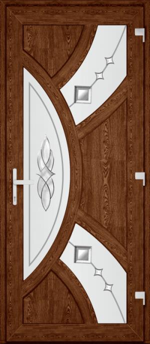 Двері PERFECT ПВХ 54 (SF)