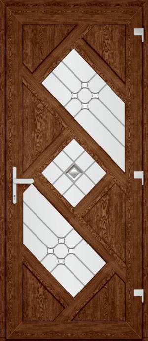 Двері PERFECT ПВХ 60 (SF)