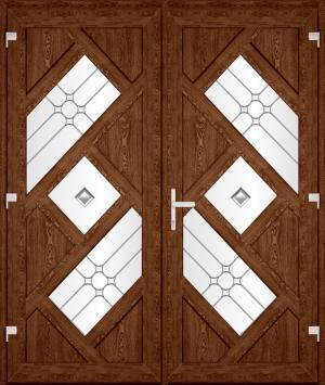 Двері PERFECT ПВХ 60.2 (SF)