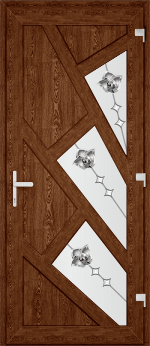 Двері PERFECT ПВХ 63 (SF)