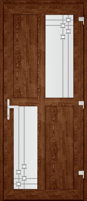 Двері PERFECT ПВХ 64 (SF)