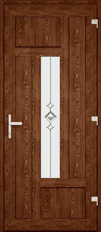 Двері PERFECT ПВХ 66 (SF)