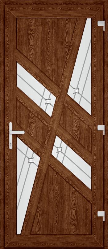 Двері PERFECT ПВХ 67 (SF)