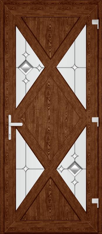 Двері PERFECT ПВХ 62 (SF)