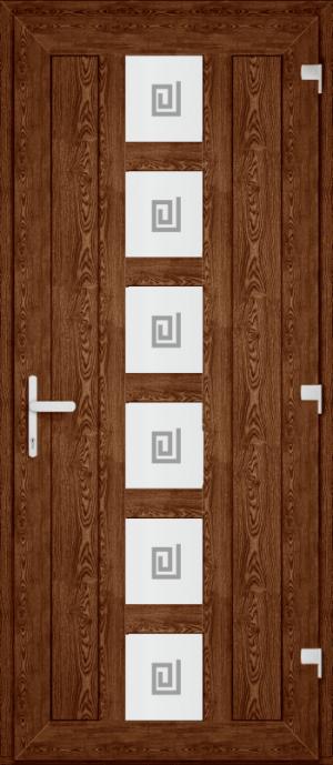 Двері PERFECT ПВХ 71 (P)
