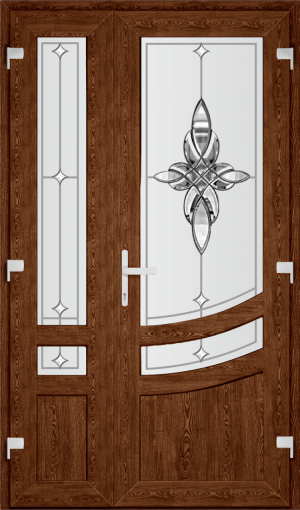 Двері PERFECT ПВХ 72 (SF)