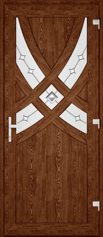 Двері PERFECT ПВХ 78 (SF)