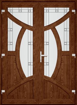 Двері PERFECT ПВХ 84 (SF)
