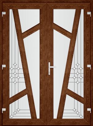 Двері PERFECT ПВХ 86 (SF)
