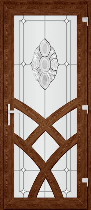 Двері PERFECT ПВХ 92-1 (SF)