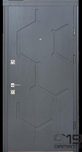 Вхідні двері, квартирні, Straj Emerald