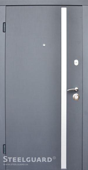 Вхідні двері Steelguard AV-1 Antracyt