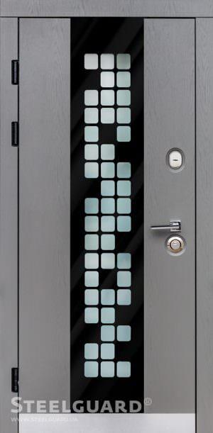 Вхідні двері Steelguard Manhattan Grey