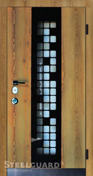 Вхідні двері Steelguard Manhattan Golden
