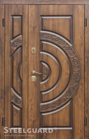 Вхідні двері Steelguard Optima Big Glass