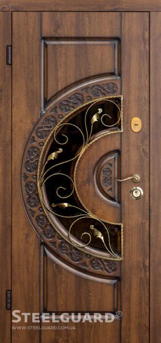 Вхідні двері Steelguard Optima Glass
