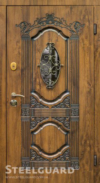Вхідні двері Steelguard Sangria Glass купити